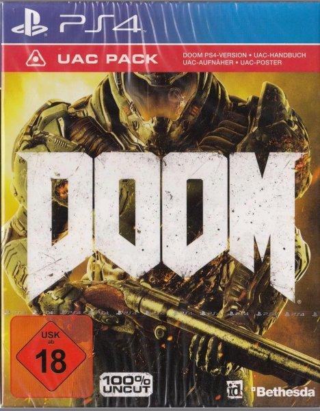 (Ebay) Doom PS4 UAC Pack OVP NEU 33,94 €