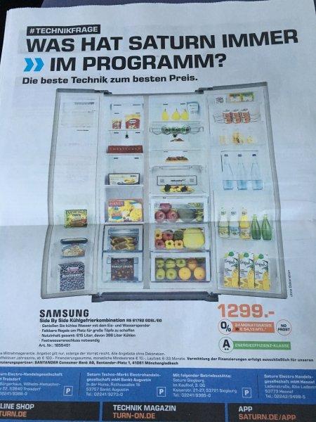 [lokal] Saturn Hennef, Siegburg, Sankt Augustin und Troisdorf: Sony 55X9005 1.199€, PAnsonic 55CRW854 1.111€, Sony 75W855 1.999€, Bose Cinetmate 15 449€, Samsung RS-61782 1.299€, LG F14B8TDA7H 299€