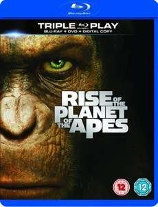 """Planet der Affen: Prevolution"" (Triple Play: Bluray, DVD and Digital Copy) & ""Hancock"" (Bluray) (beide mit dt. Tonspur) ab je 3,23€ [Zavvi]"