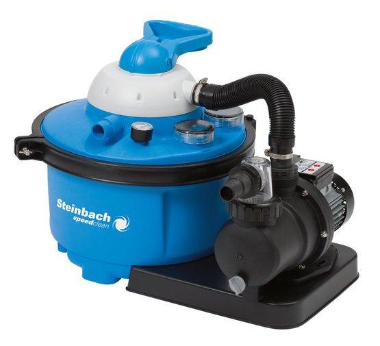 Steinbach Sandfilteranlage Speed Clean Comfort 50, Blau, 6.600 l/h @ Amazon