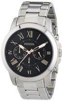 [Amazon Marketplace] Fossil Grant FS4994 Herren Edelstahl-Chronograph für 77,31€ incl.Versand!