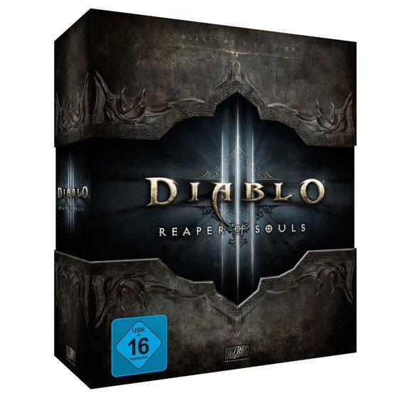 [Amazon] Diablo 3: Reaper of Souls - Collectorx27s Edition Add-On (PC) mit Soundtrack, Artbook, Making-of und Mauspad für 37,91€