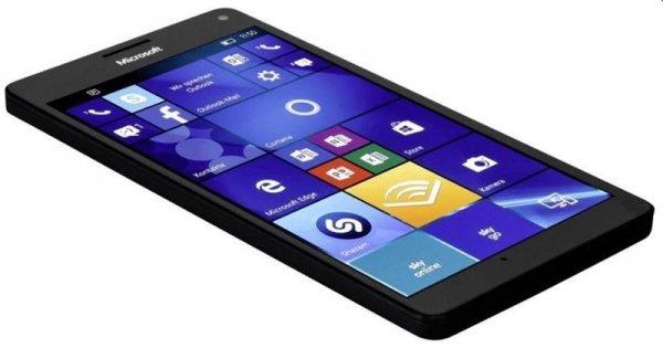 Microsoft Lumia 950 XL Dual Sim schwarz bei Computeruniverse EU Modell frei und ohne Branding