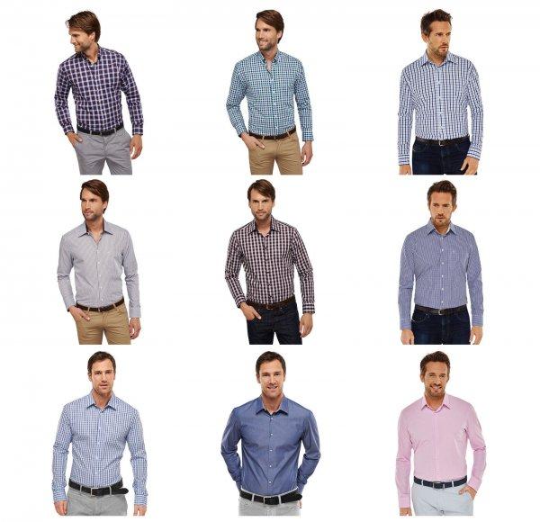 Schiesser Herren Hemden langarm / verschiedene Farben + 15 Extrarabatt ab 3 Stück (21,20€ pro Stück)
