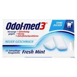 Odol Med 3 Fresh Mint Kaugummi (12er) 0,40 Euro @Apodiscounter plus Osterei-Eieruhr