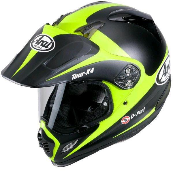 (Hein Gericke) Arai Tour-X 4 Cross-Touring Helm Route Yellow für € 355,20 VSK frei statt > € 560,-