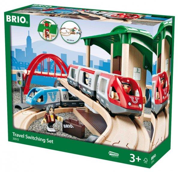 [Amazon] Brio 33512 - Großes Bahn Reisezug Set für 57,05€
