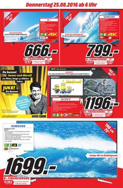 "Samsung 4K 60"" LED TV[799€] / Bose Soundlink mini 2 [149€] / Go Pro Hero 4 Silver[297€] (Bad Cannstatt)"