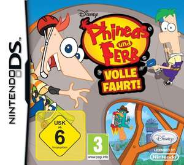 LOKAL Famila Wechloy Oldenburg: diverse DS Spiele für 4,99 Euro, z.B. Phineas und Ferb 1 und 2