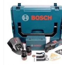 Bosch Multi-Cutter GOP 10,8V mit 2x 2,5 Ah Akkus und L-Boxx