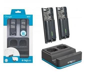 (Amazon Prime) Bigben - Wii U Controller Ladestation + 2 Akkus für 7,96€