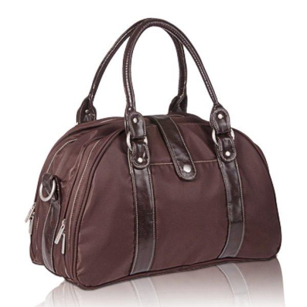 LÄSSIG Wickeltasche Shoulder Bag Glam choco für 18,92€ bei [babymarkt.de] statt ca. 85€