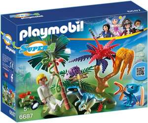 [Amazon] PLAYMOBIL 6687 - Lost Island mit Alien und Raptor (30% unter Idealo)