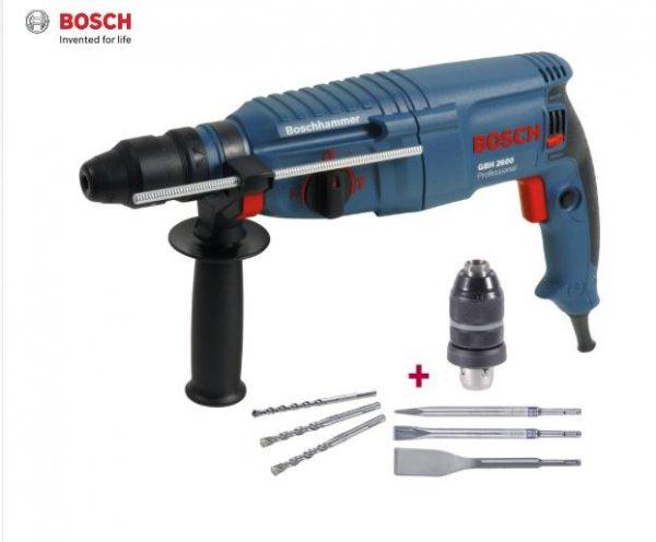 Bosch GBH2600 Kombihammer SDS-plus mit Zubehör