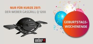 lifestrom - Weber Gasgrill Q1200 + 3 Monate maxdome