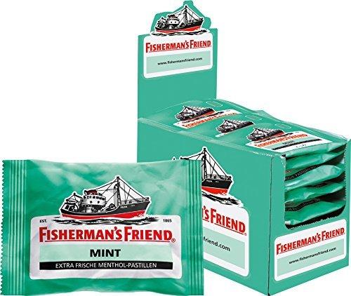 [Amazon Prime] Fishermans Friend Mint 24 x 25 g Beutel für 11,38 € (47 Cent/Packung)