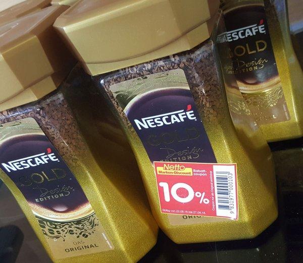[Netto MD] Nescafé GOLD 200g Glas für 4,79 EUR bzw. 5,99 EUR -- nur heute!