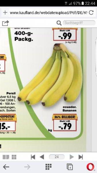 Kaufland NRW vom 05-07.09 1 KG Banane für nur 79 Cent