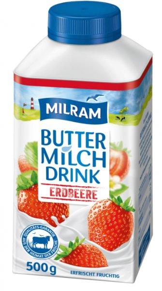 [PENNY] 10x Milram Buttermilch Drink (10x500g) für 3,90€ (Angebot+Coupies)