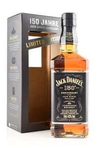 Jack Daniel´s Tennessee Whisky Limited 43% 0,7l - 150 Jahre Geburtstagsedition [REAL]