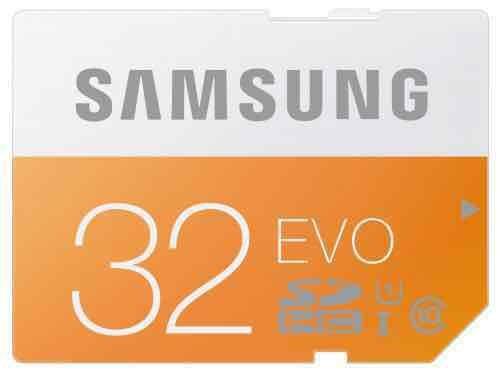 [amazon] Samsung Speicherkarte SDHC 32GB GB EVO UHS-I Grade 1 Class 10 für Foto und Video Kameras (bis zu 48MB/s Transfergeschwindigkeit)