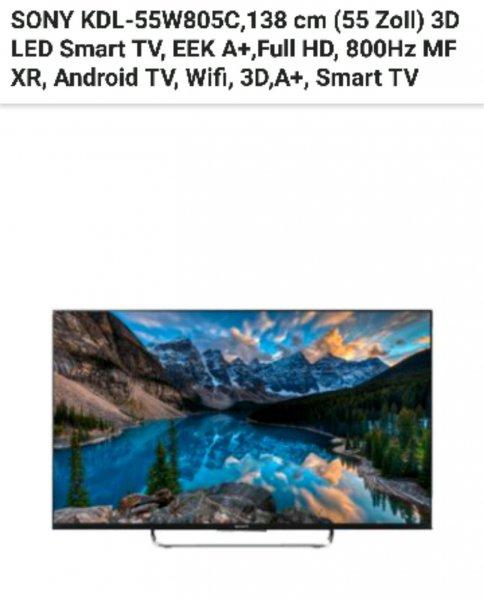 Sony KDL-W805c 55 Zoll bei Saturn für 749€