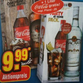 Bacardi Oakheart + 1 Liter Coca Cola für 9,99€ @ Netto