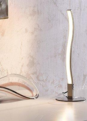 """LED -Tischleuchte """"Paul Neuhaus Wave"""", 270 lm, für 10 Euro (online ausverkauft) @Bauhaus"""
