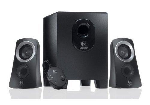 Logitech Z313 PC Lautsprechersystem (2.1) schwarz [ 2 Satellitenlautsprecher, 1 Subwoofer, Steuergerät] für 24,90€ @Amazon.de Blitzangebot