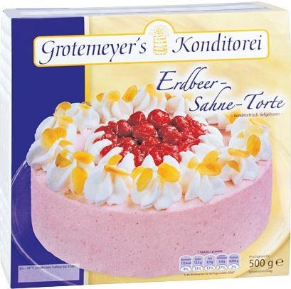 500g Grotemeyer`s Torten @Kaufland