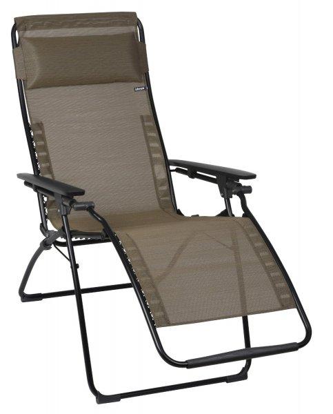 [Amazon] Lafuma LFM3052-6896 Relax-Liegestuhl, klappbar und verstellbar, Futura, Bronze, rot. WHD SEHR GUT für 98,51