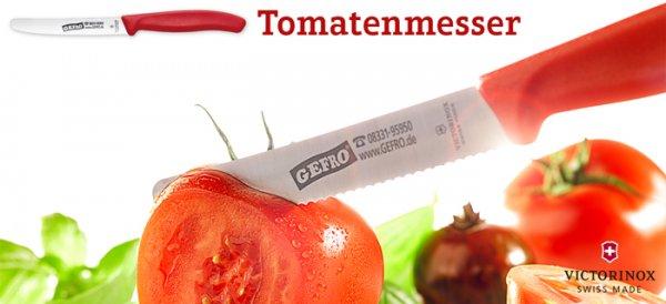 Victorinox: 3x Tomatenmesser und 1x Steakmesser für 10,71 € (pro Messer 2,67 €) + 130g Helle Soße [Gefro]