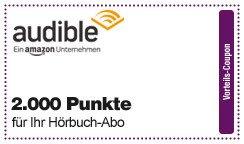 [DeutschlandCard] Audible Flexi Abo für 9,95€/Monat + 2000 Punkte