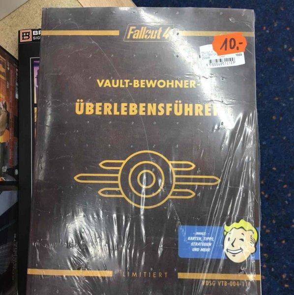 Lokal Saturn Witten Fallout 4 Überlebensführer / Lösungsbuch