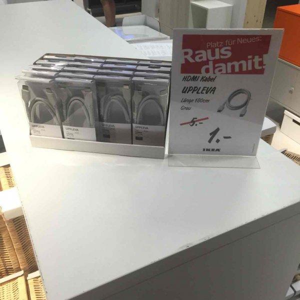 [Lokal?] Ikea Berlin Lichtenberg HDMI Kabel Uppleva