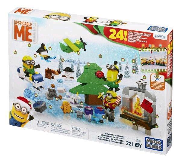 Amazon Prime : Minions Adventskalender von Mattel für 8,00 €