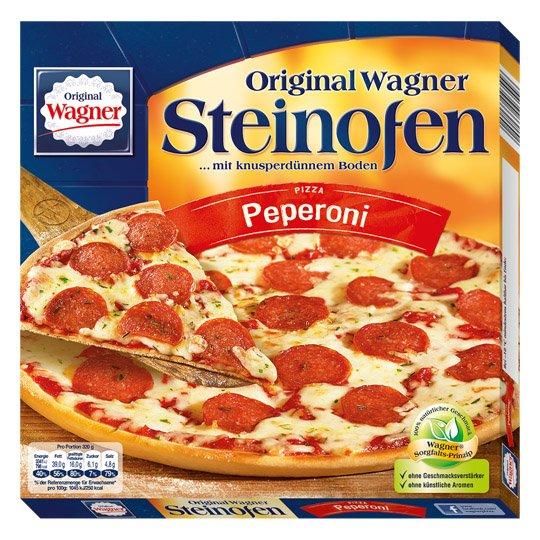 [REWE] Wagner Steinofen Pizza für effektiv 0,55 € [bei 18 Pizzen] mit der Wagner Freundschaftswochen-Aktion