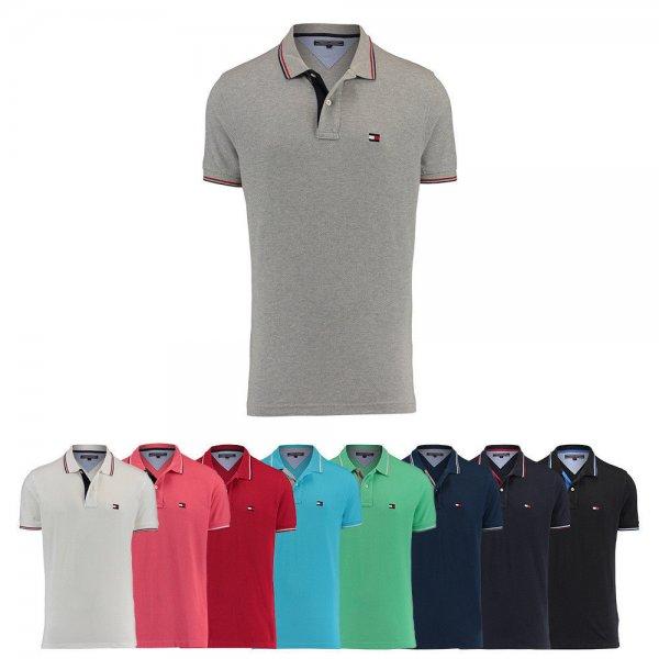 Ebay - Engelhorn - Tommy Hilfiger Herren Poloshirt C-New Flag Kurzarm S M L XL XXL NEU Regular Fit