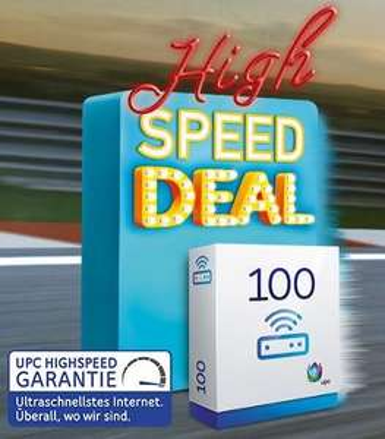 [Schweiz - upc.ch] Internet 100 Mbit/s für 49.-/Monat anstatt 65.-