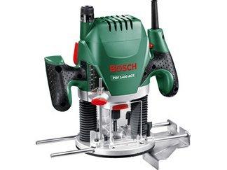 Bosch POF 1400 ACE Oberfräse ab 87,99€ [Bauhaus, Hornbach, Hagebau, mit Tiefpreisgarantie]