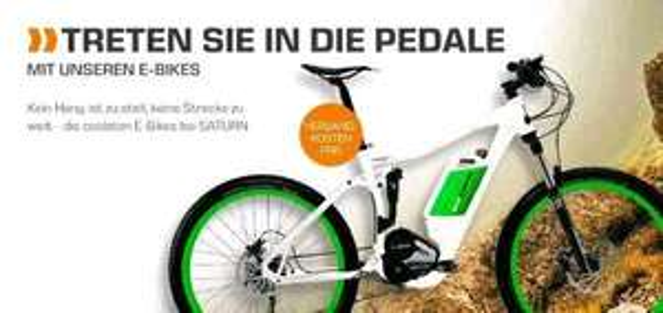 E-bike, E-Scooter, (Zubehör ab 4,99€) Sommer Sale bei Saturn.de