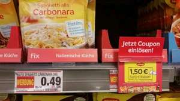 Edeka Stengel Fürth (Lokal?). 6x Maggi Fix Tüten für 1.44€