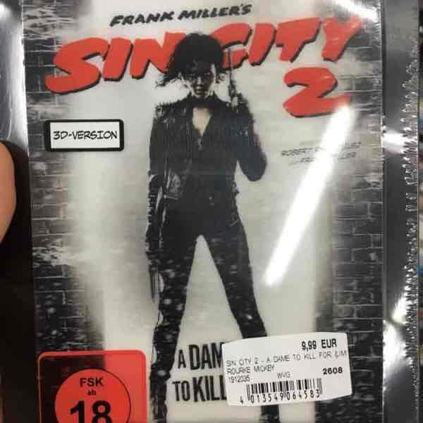 """[Mediamarkt/Saturn] """"Sin City 2"""" 2D/3D Steelbook Lenticular Bluray für 9,99"""