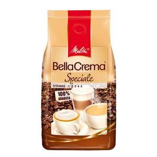 [Amazon Sparabo] Melitta Ganze Kaffeebohnen, 100 % Arabica, mildes Aroma, leichter Charakter, milder Röstgrad, Stärke 2, BellaCrema Speciale, 1000g für 6,39€