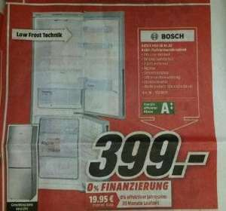 (Lokal Dorsten Mediamarkt) Kühl-Gefrierkombi Bosch KGV36UL30