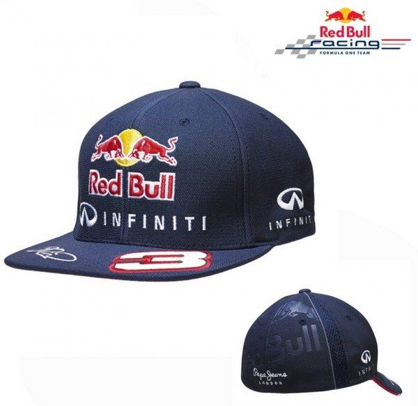 Red Bull - Driver FlatCap - Cappy navy für 14,60 incl Versand