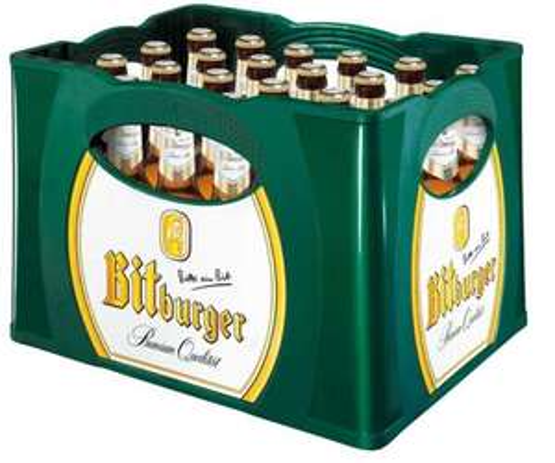 Bitburger Premium Pils, 2 Kisten x  20 x 0,33 Liter für 15€, ab 10.04.2012 bei Netto ohne Hund.