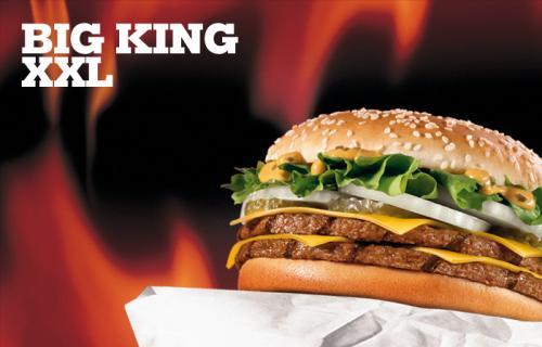 2 Big King XXL zum Preis von einem mit PLU Code 60151