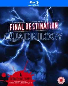 Final Destination 1-4 Box Set [Blu-ray] ca. 14,24€ inkl. Versand bei zavvi