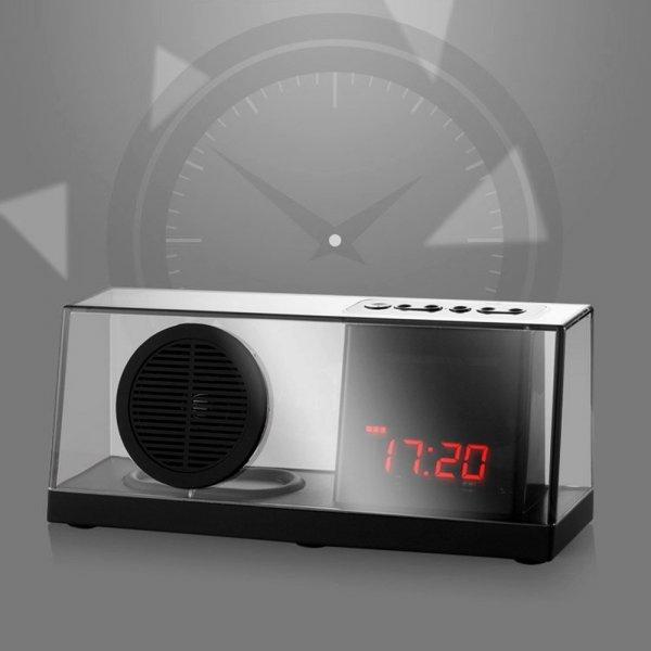 [Amazon] I-VENSTAR 033 Bluetooth Transparent Speaker, FM, Display, USB, MicroSD